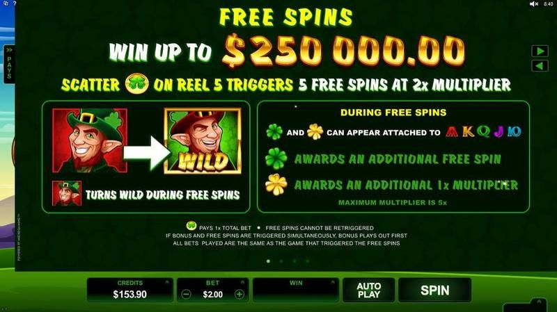 Lucky Leprechaun Microgaming