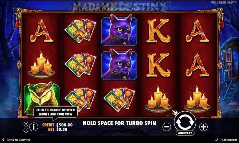 Madame Destiny Pragmatic Play Slot