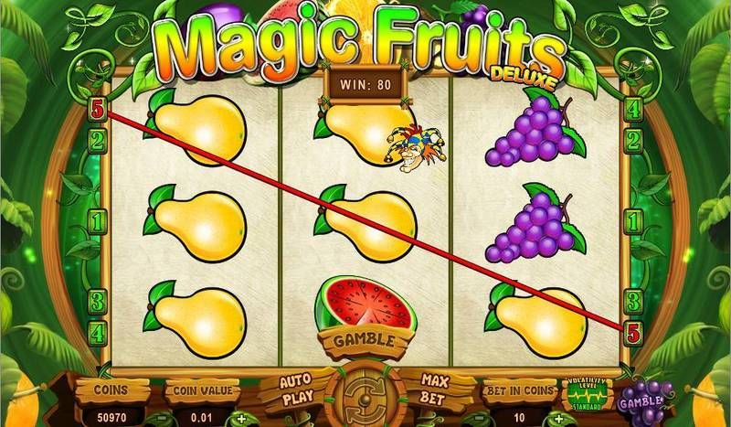 Magic Fruits Deluxe Wazdan Slot