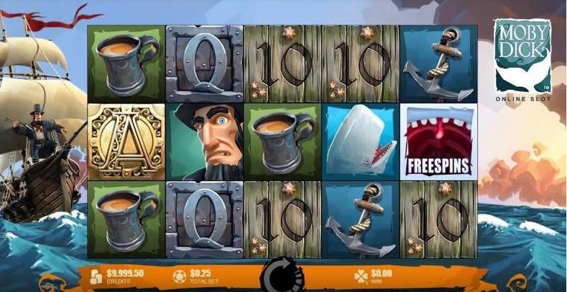 Moby Dick Microgaming Slot