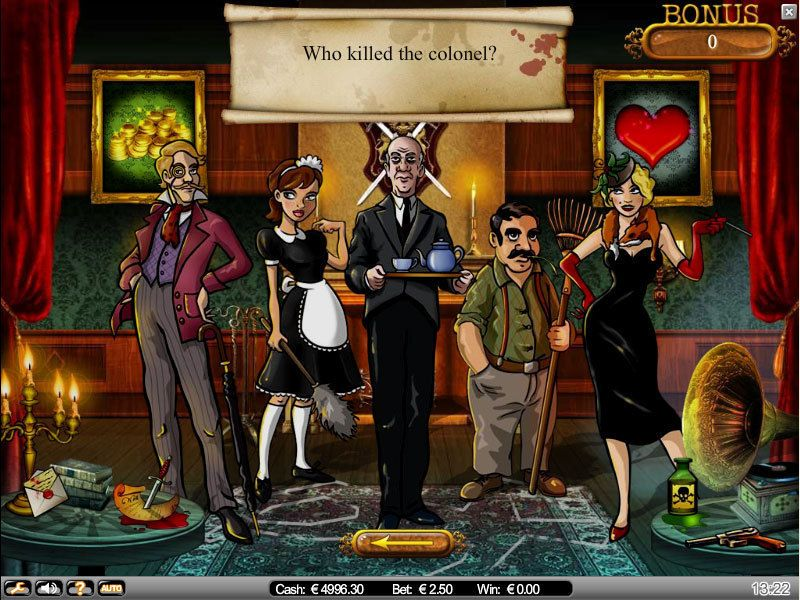 Mystery at the Mansion NetEnt Slot