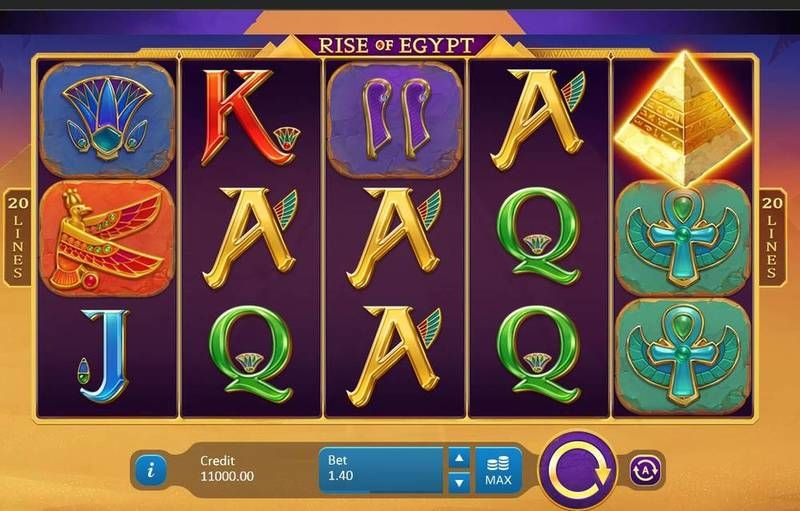 Rise of Egypt Playson Slot