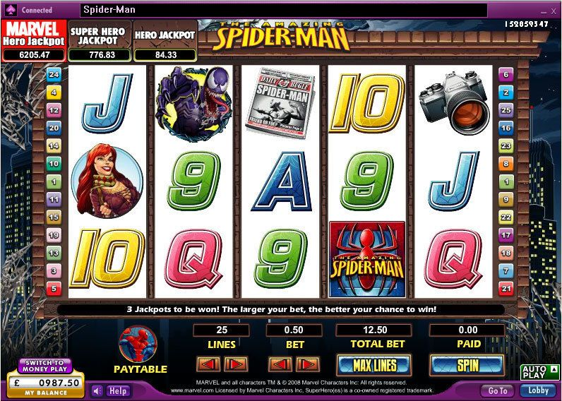 The Amazing Spider-Man 888 Slot