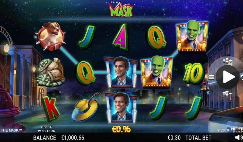 The Mask NextGen Gaming Slot