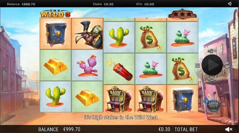 The Wild 3 NextGen Gaming Slot