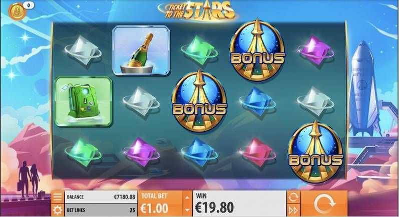 Ticket to the Stars Quickspin Slot