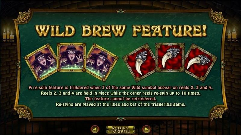Witch's Brew RTG Slot