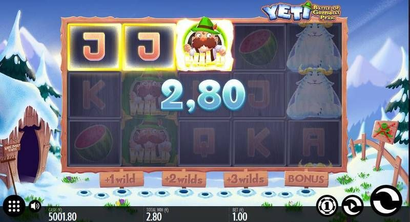 Yeti - Battle of Greenhat Peak Thunderkick Slot